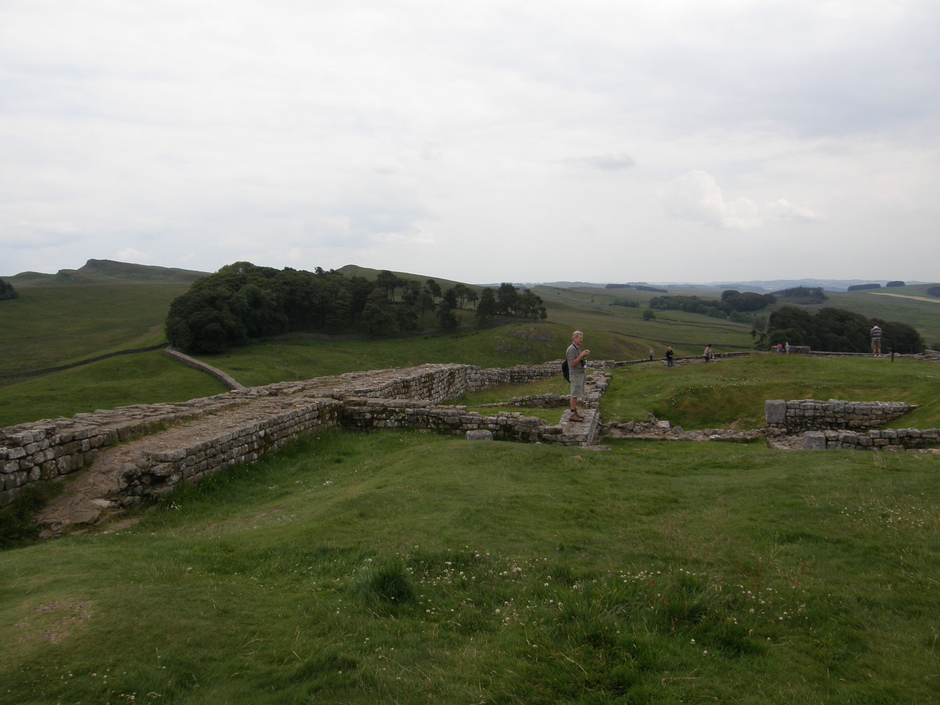 Housesteads Fort and Hadrians Wall