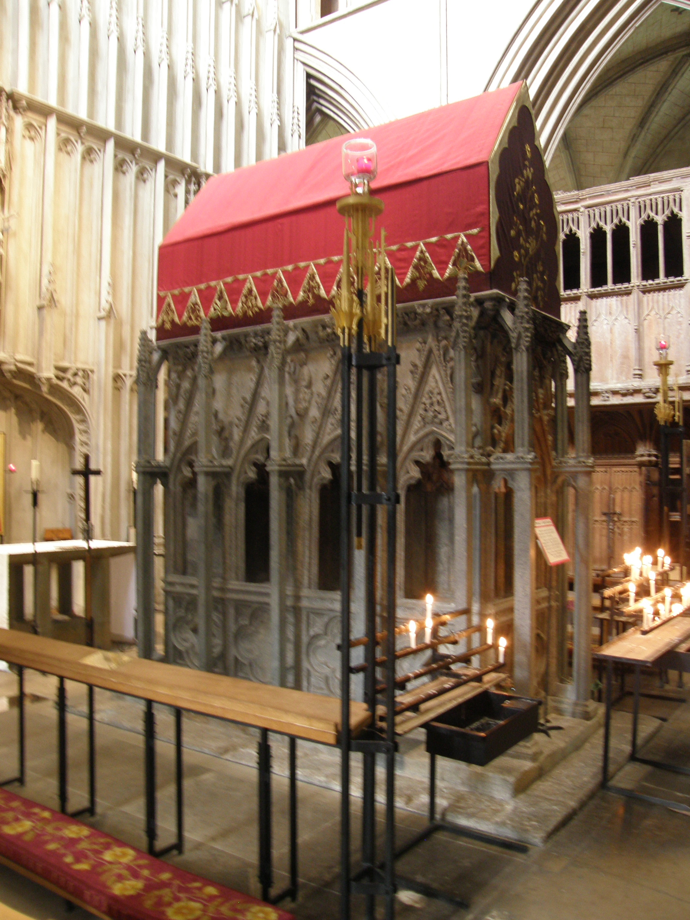 Shrine of St. Alban, St. Albans Cathedral