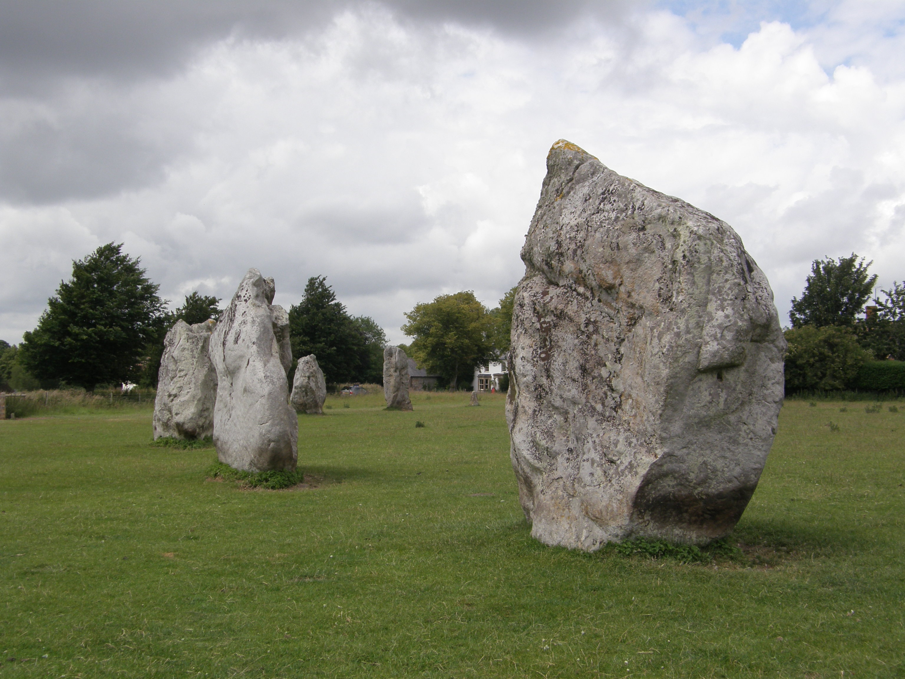 Stone Circle portion within the Avebury Henge