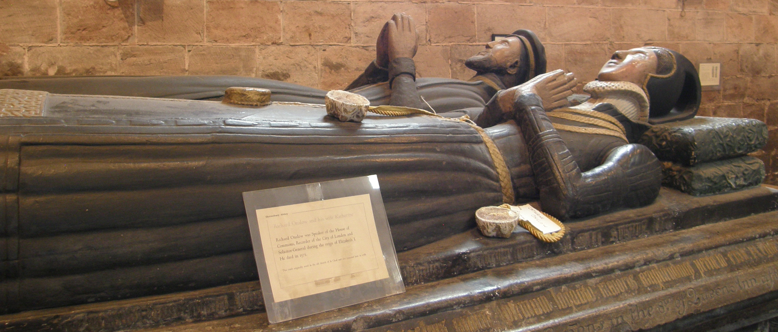 Elizabethan Tomb, Shrewsbury Abbey Church
