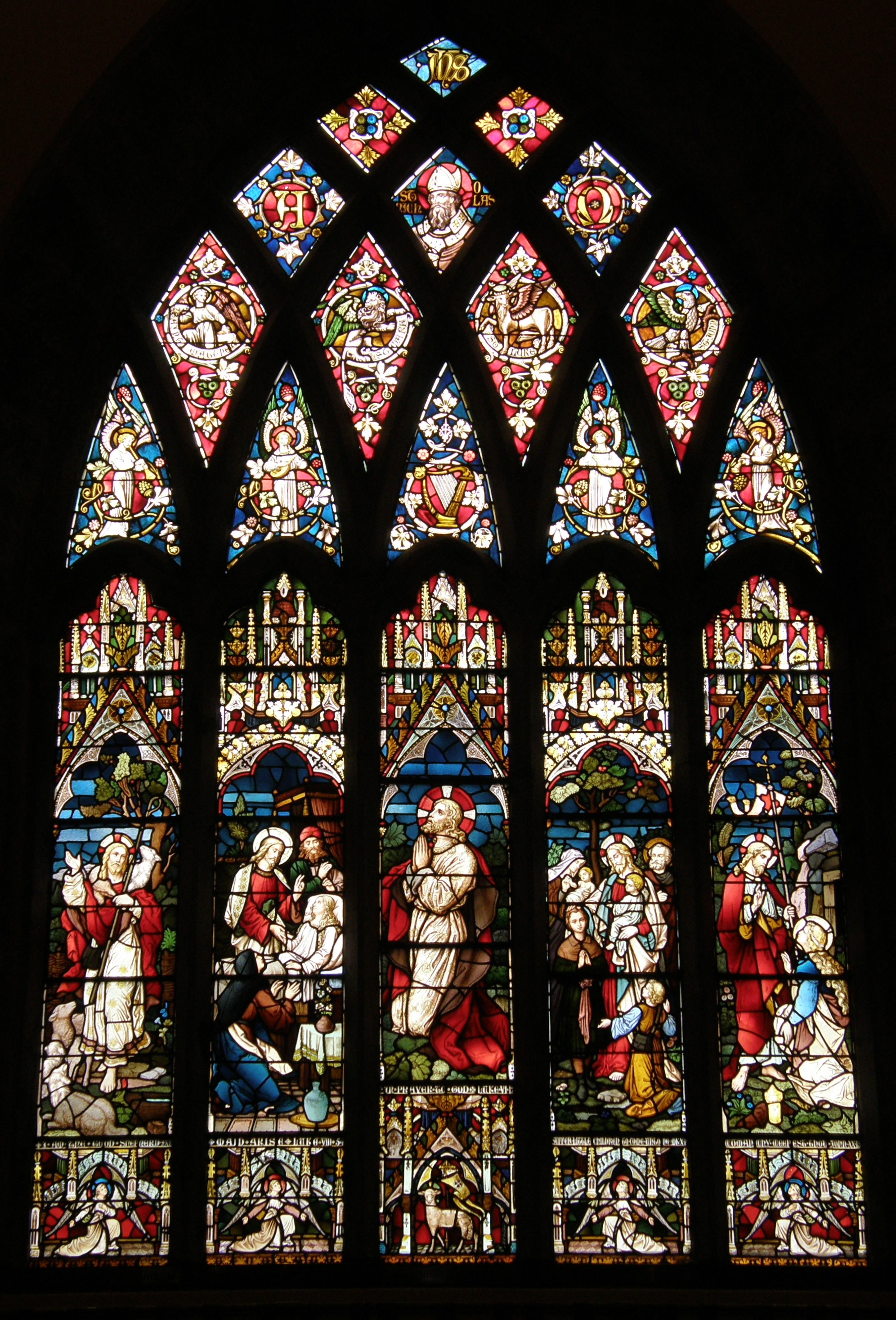 Altar Window, St. Nicholas Church, Galway