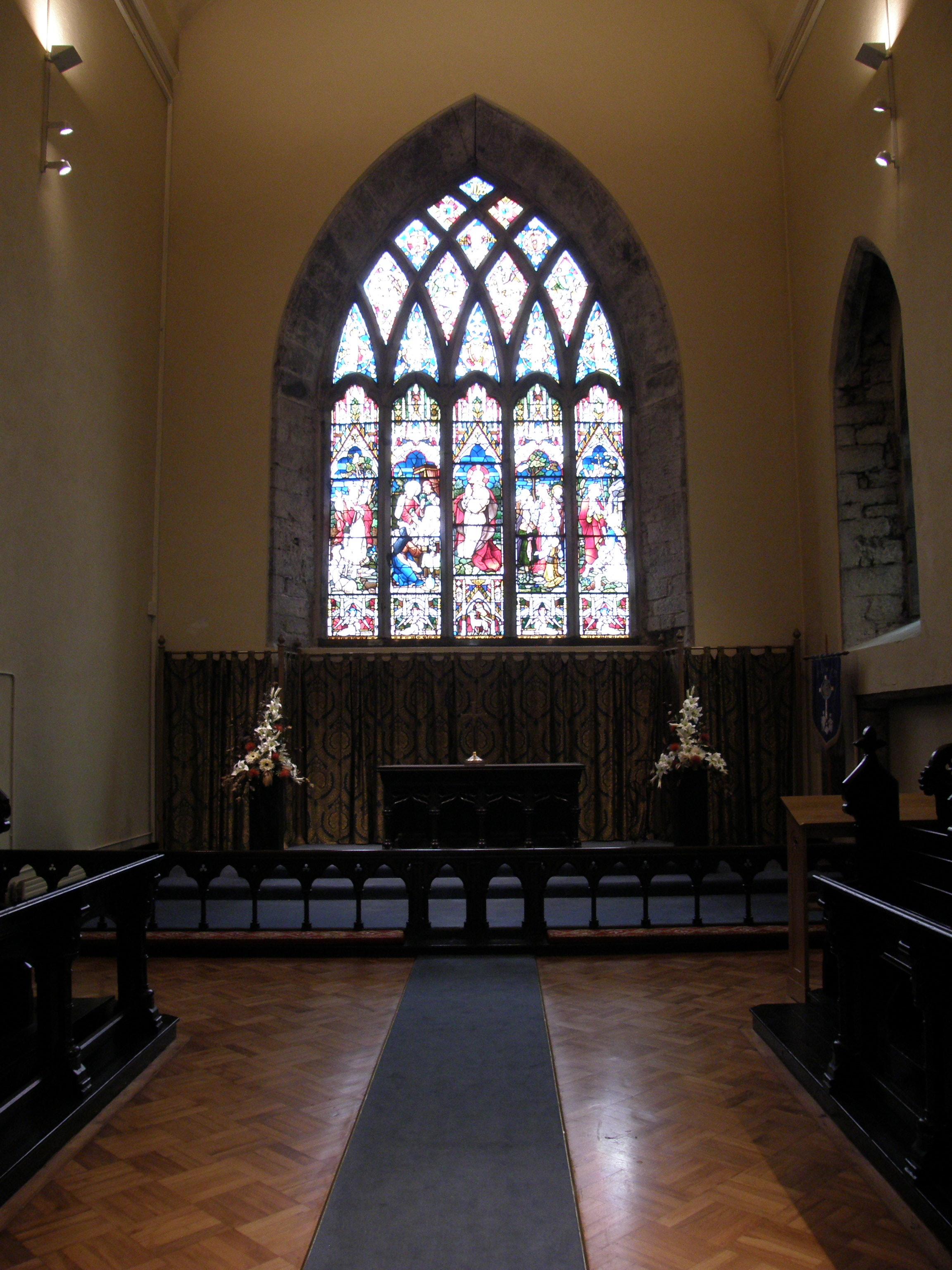 Chancel and High Altar, St. Nicholas Church, Galway