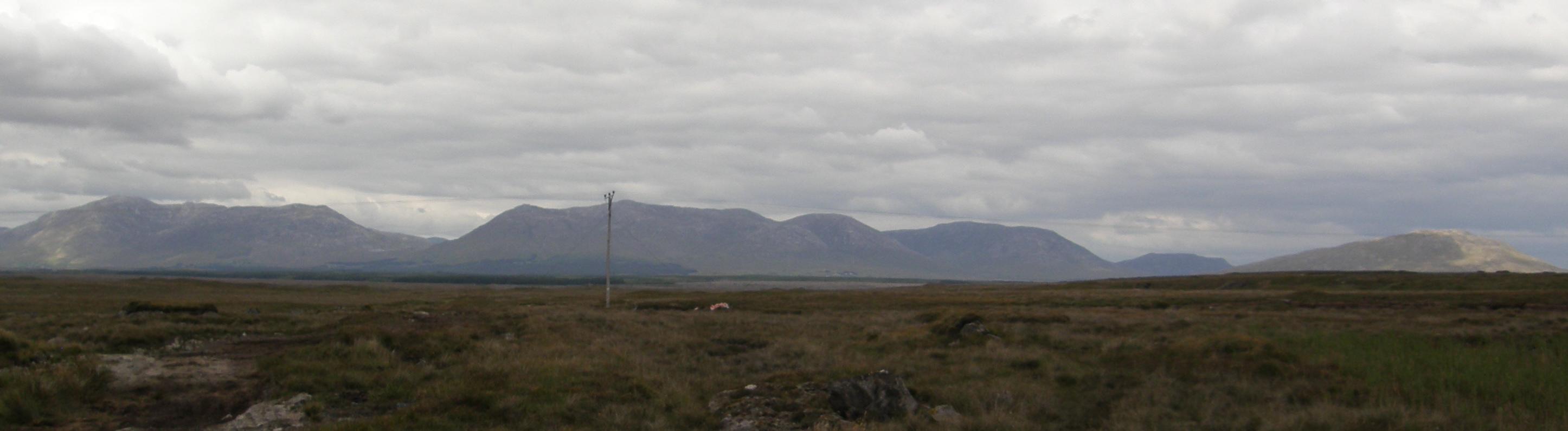 The Twelve Bens from Derryrush Road