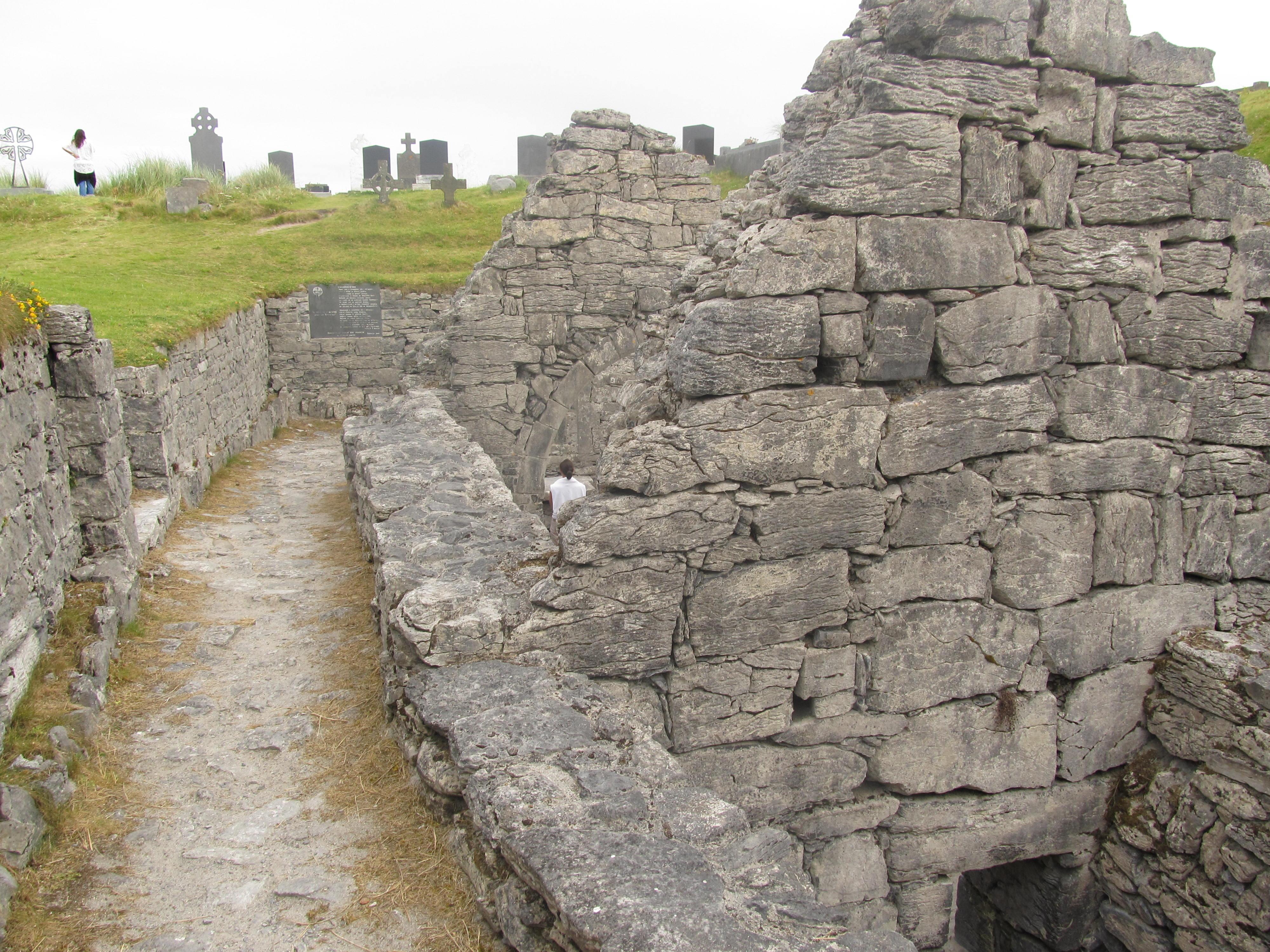 Teampall Chaomháin, Inis Oírr (photo from Ciara Grogan)
