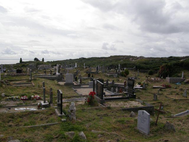 Burial Ground at Teampall Mhac Ádhaimh, Barr an Doire, An Cheathrú Rua