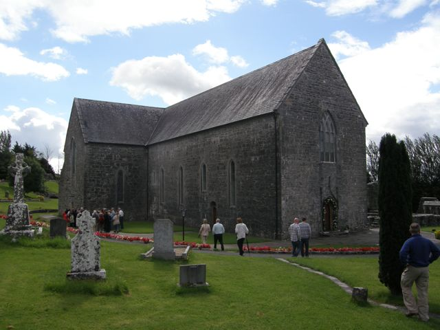 Ballintubber Abbey Church, Co Mayo, Éire