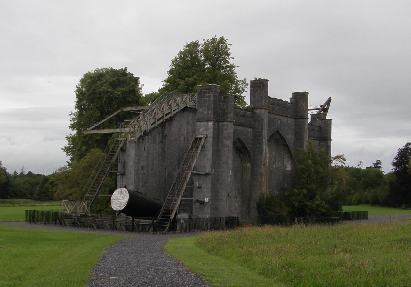 The Great Telescope, Birr Castle Demesne, Biir, Co. Uibh Fhaili, Éire