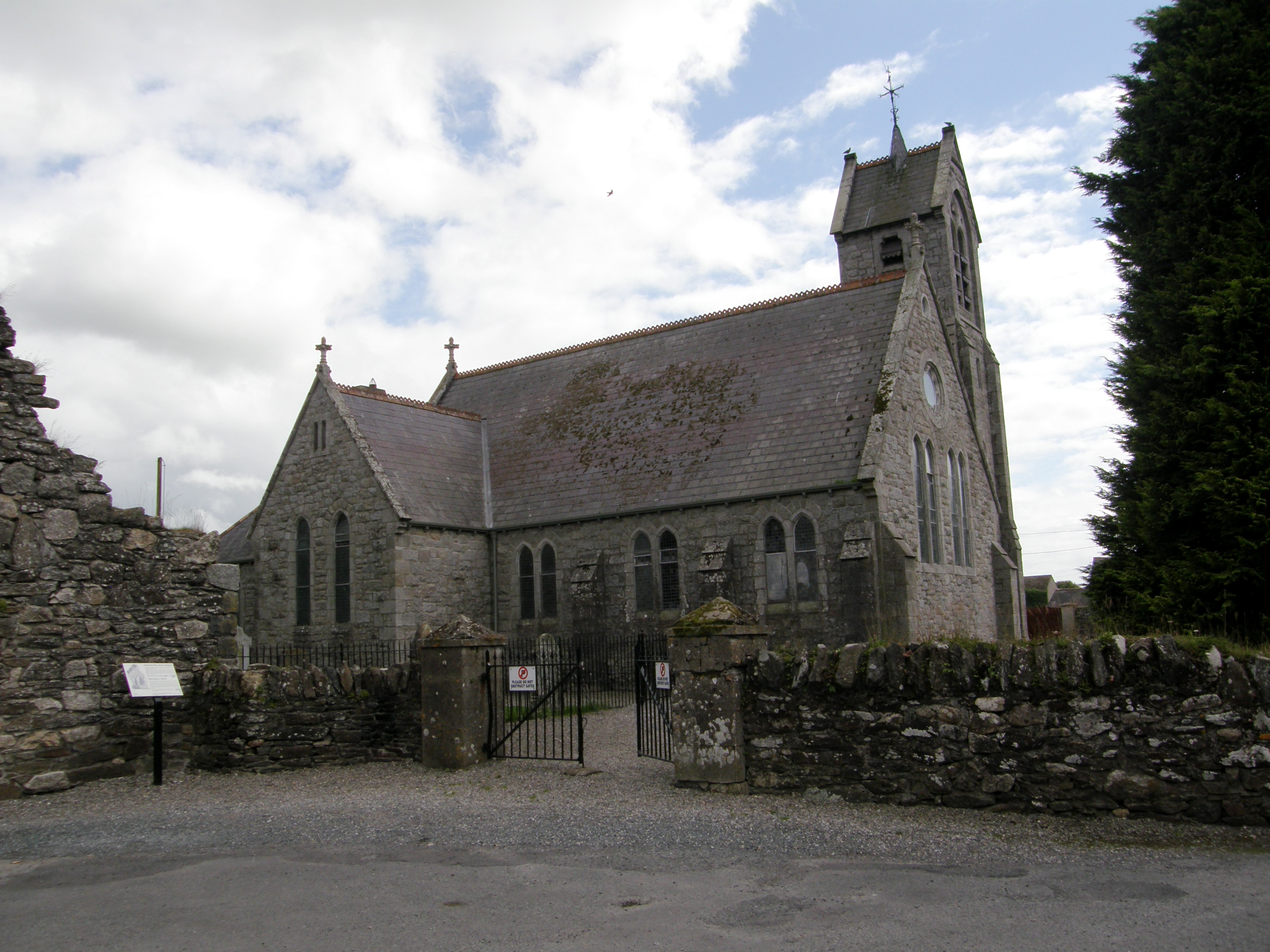St. Mary's - Baltinglass, Church of Ireland, on Whose Grounds the Abbey Is Located