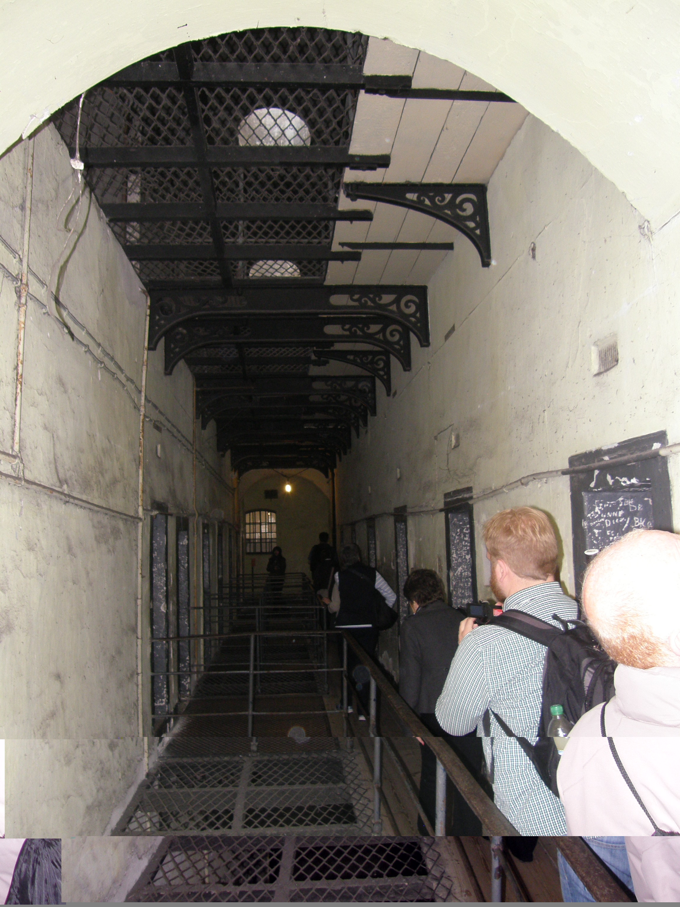 The 1916 Corridor - Cells Where the Volunteer Leaders Were Incarcerated
