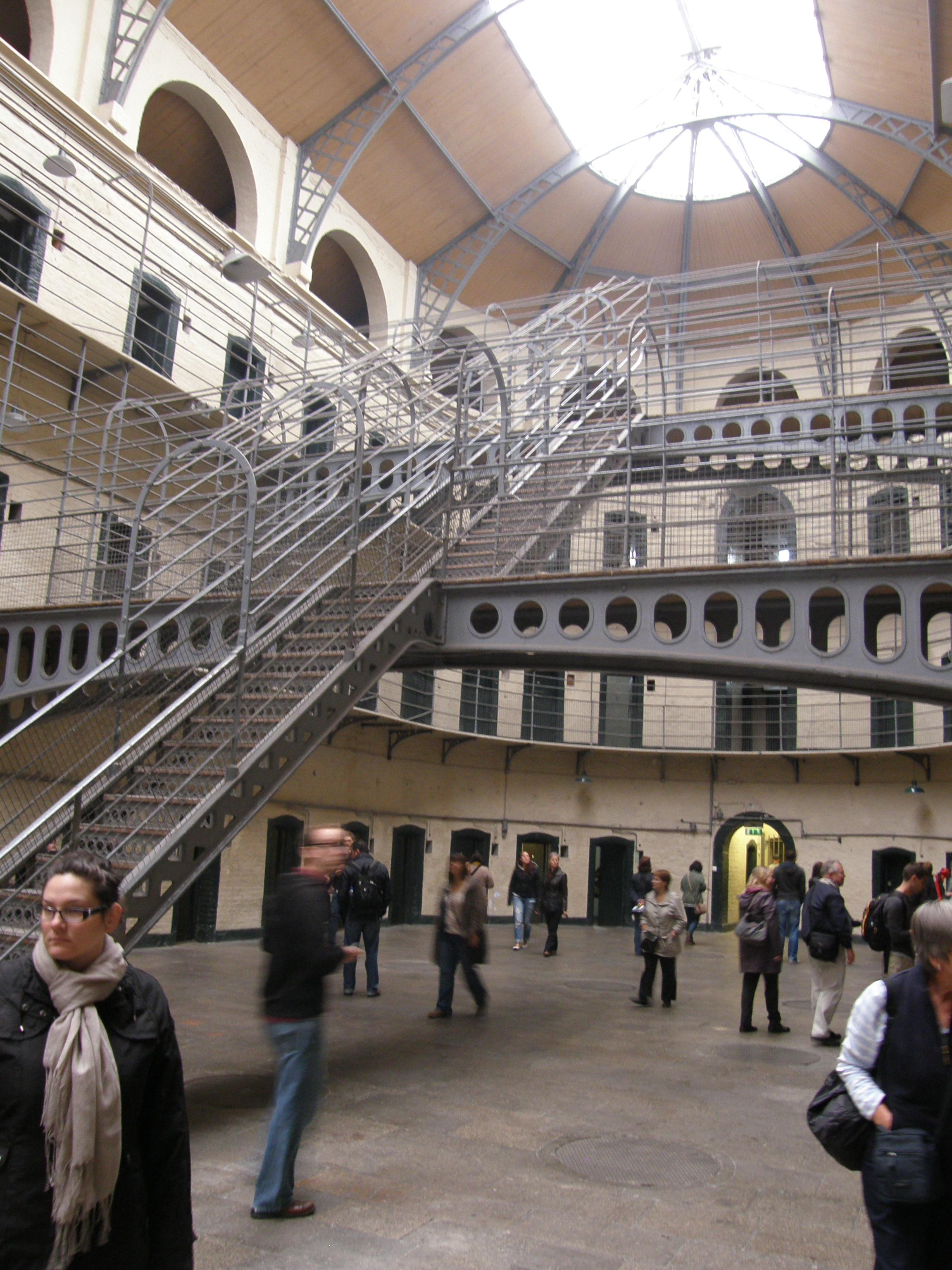 """The """"New"""" East Wing of Kilmainham Gaol, Dublin, Ireland"""