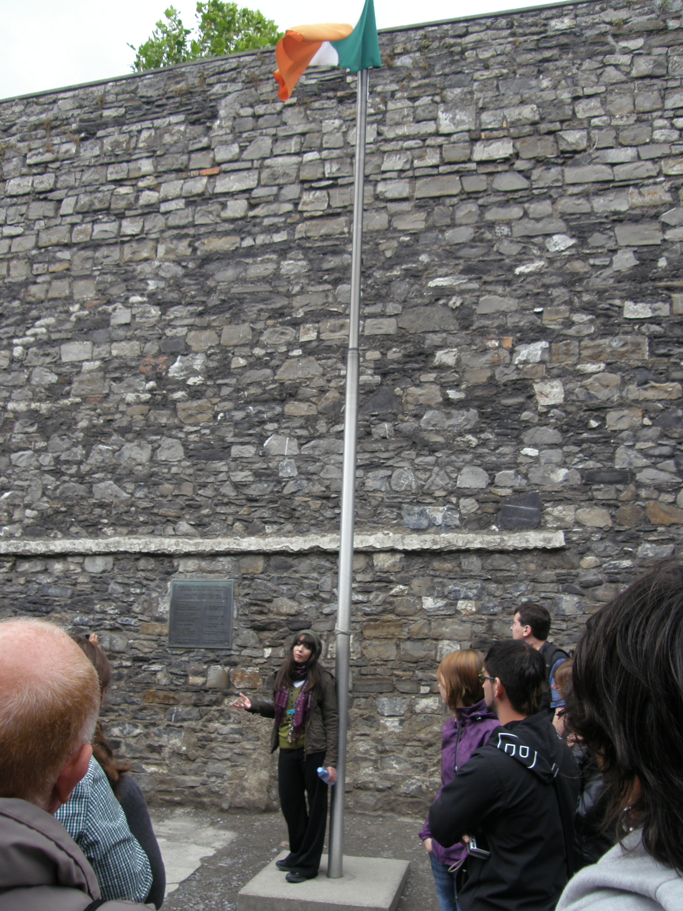 Stone Breakers' Yard at Kilmainham Gaol, Where Executions Were Carried Out