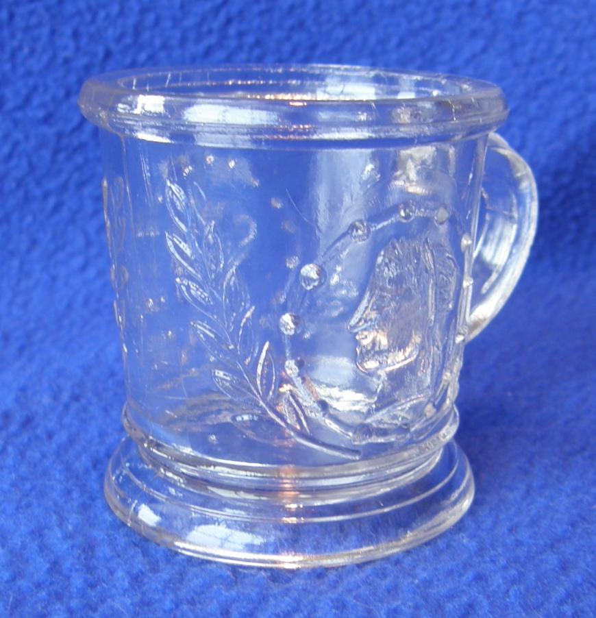 """Clear Medallion mug (2"""" x 2""""); Ceres variant"""
