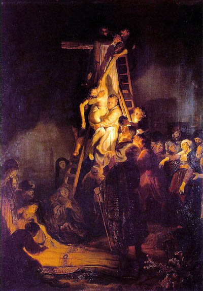 Rembrandt, Descent from Cross