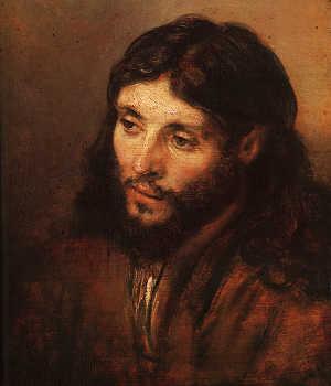 Rembrandt, Portrait of Christ