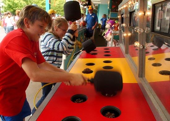 Whack-a-Mole Arcade Game
