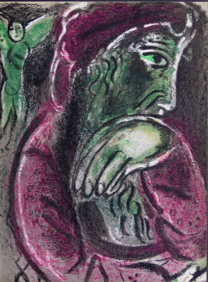 Job by Marc Chagall