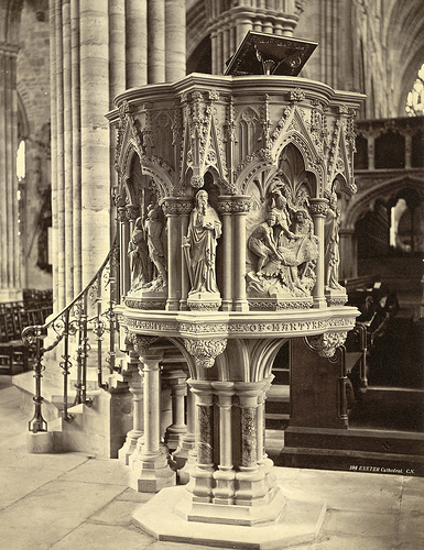 Pulpit, Exeter Cathdral