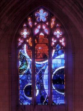 Moon Rock Window, Washington D.C. National Cathedral