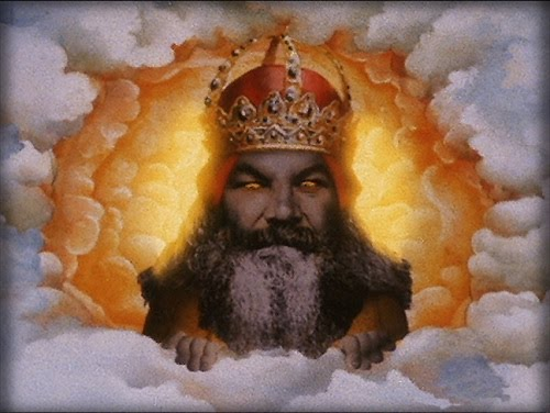 God from Monty Python & the Holy Grail