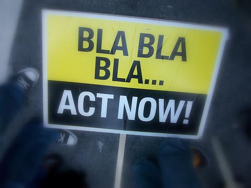 Bla Bla Bla - Act Now