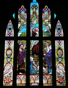 St Paul Window, St Paul's Church, Medina, Ohio