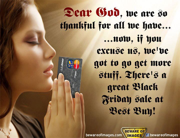 Dear God Black Friday meme