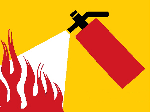 Fire Extinguisher Use Poster