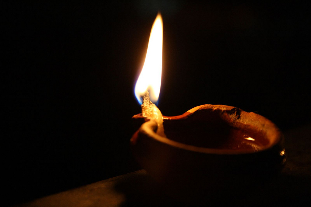 Clay Oil Lamp