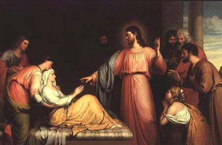 John Bridges, Christ Healing the Mother of Simon Peter