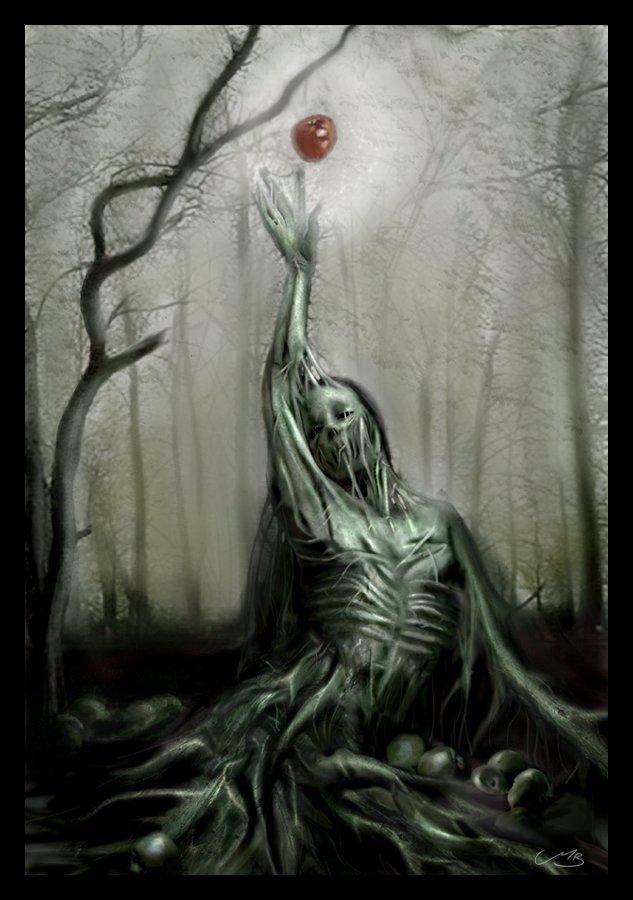 """""""Original Sin"""" - Artist Unknown"""