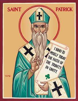 Icon of St. Patrick of Ireland