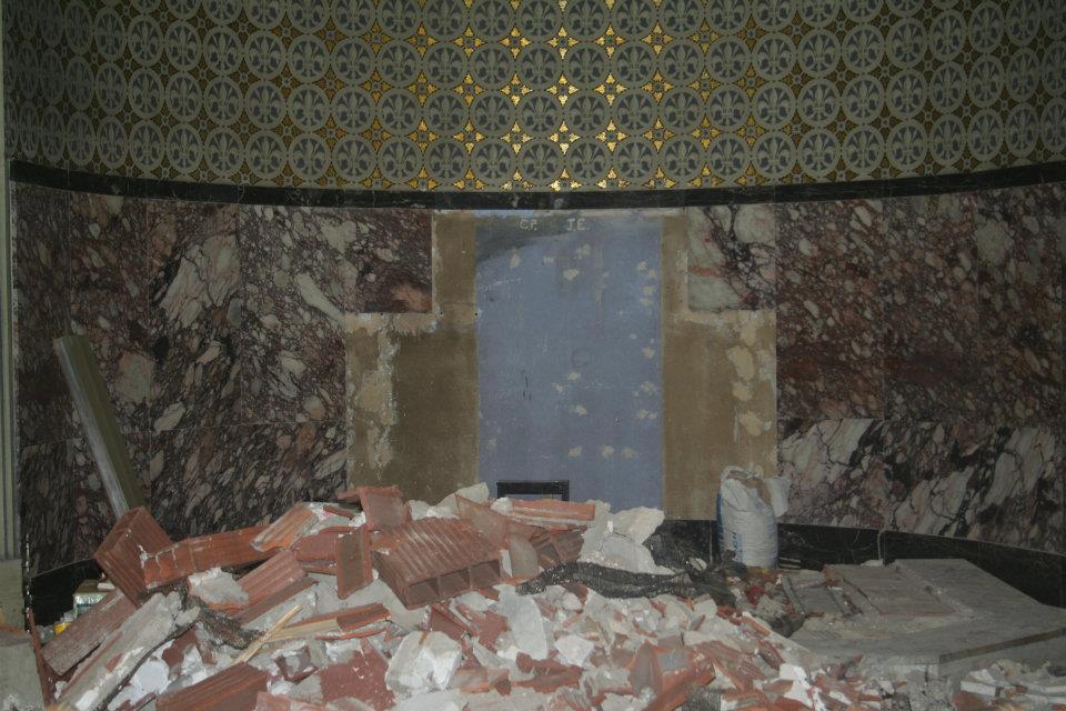 A Smashed Altar
