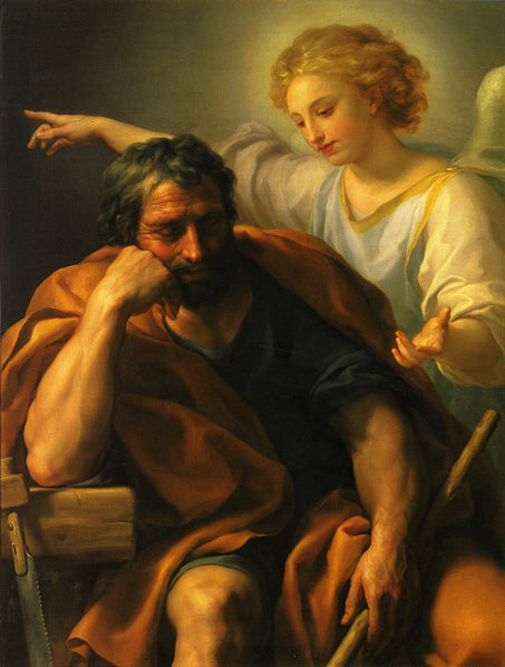 St Joseph's Dream by Raphael Mengs