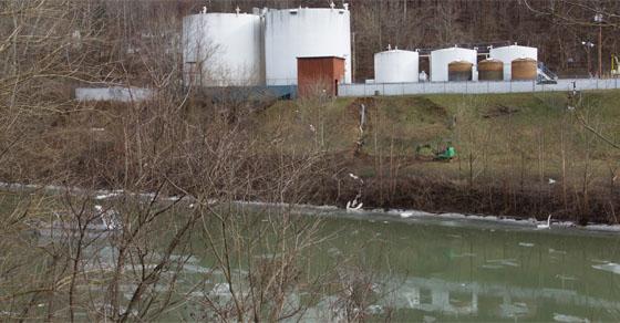 West Virginia Toxic Chemical Storage Tanks