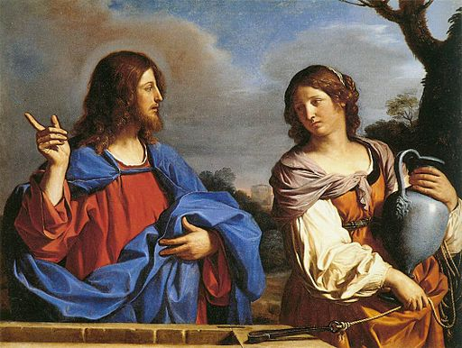 Jesus and the Samaritan Woman at the Well by Guercino