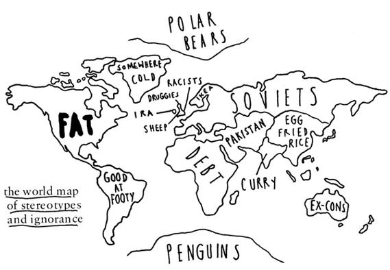 Map of Stereotypes