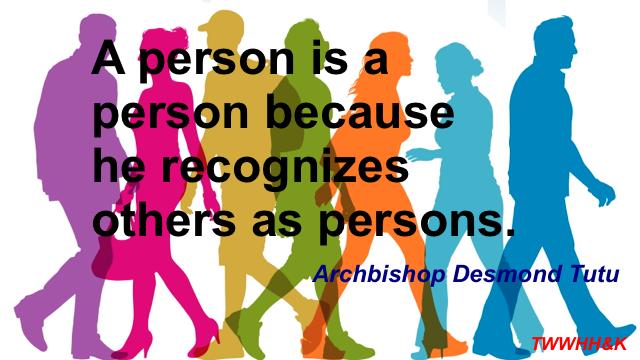 Archbishop Tutu on Personhood
