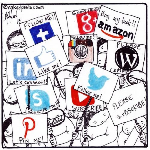 Social Media Cartoon by Nakedpastor