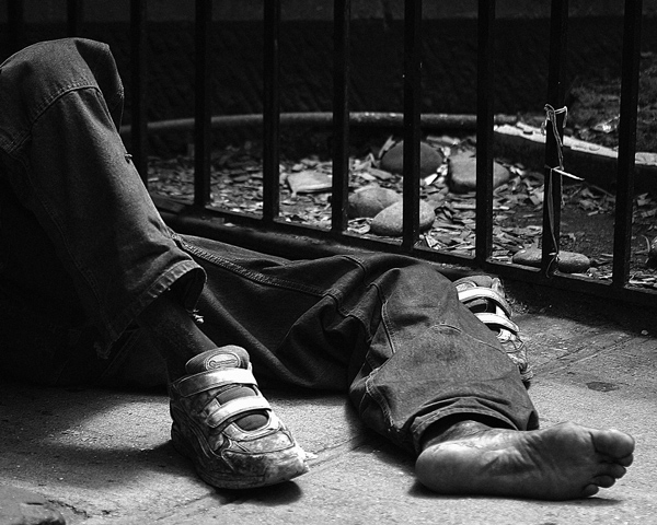 Feet of the Poor