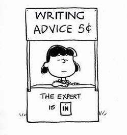 Peanuts' Lucy offers writing advice for 5 cents