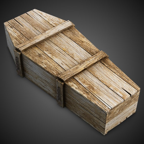 Pine Box Coffin