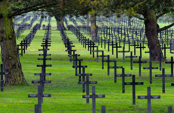 German war cemetery, Neuville-St-Vaast, Pas-de-Calais Copyright David Crossland