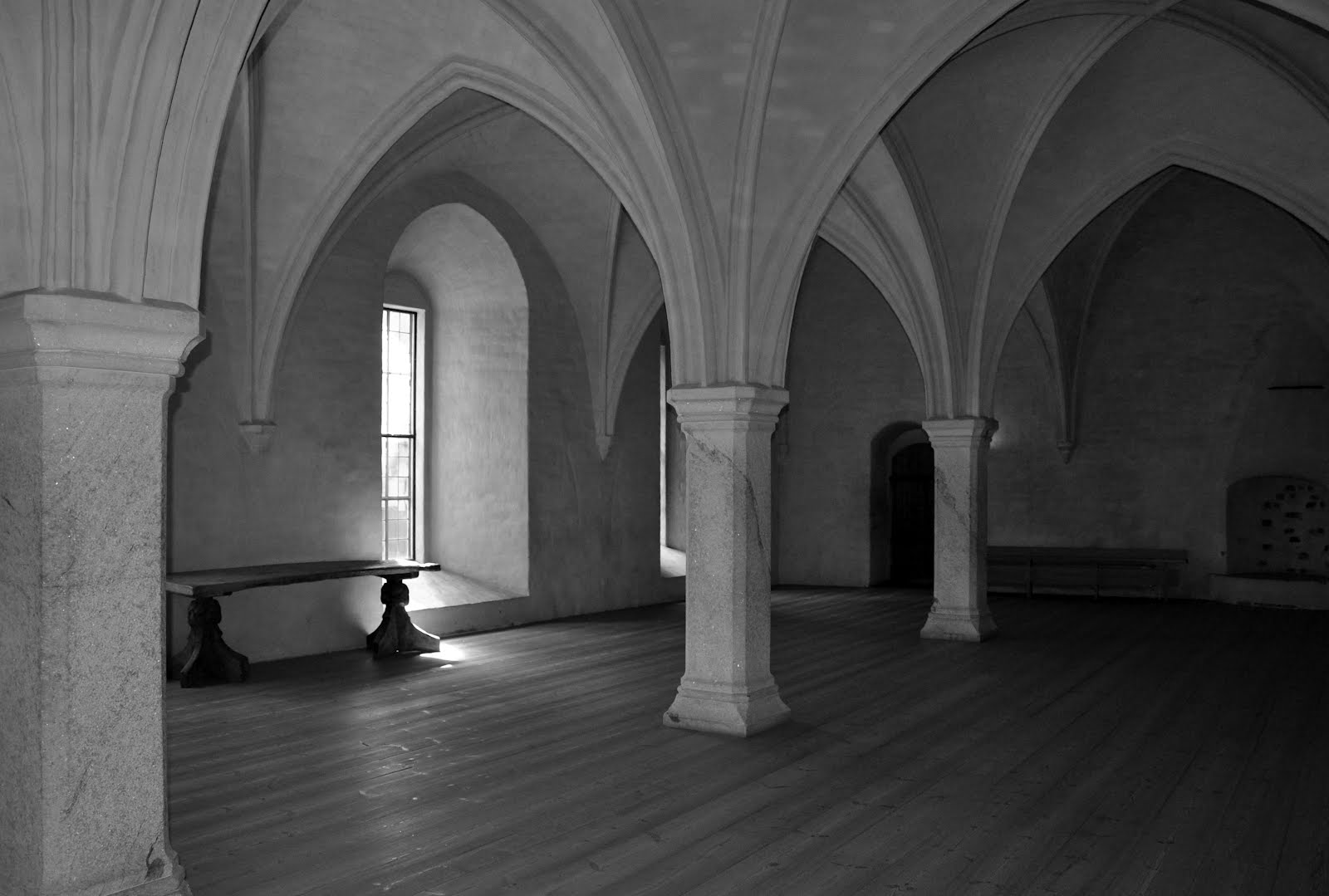 Empty Arched Space