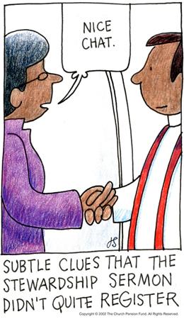 Stewardship Sermon by Jay Sidebotham
