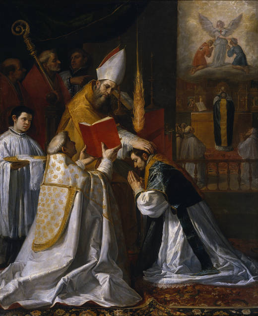 Ordination and First Mass of Saint John of Matha by Vincenzo Carducci