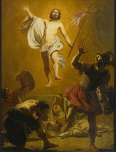 The Resurrection of Jesus by Jan Janssen (c. 1620-25)